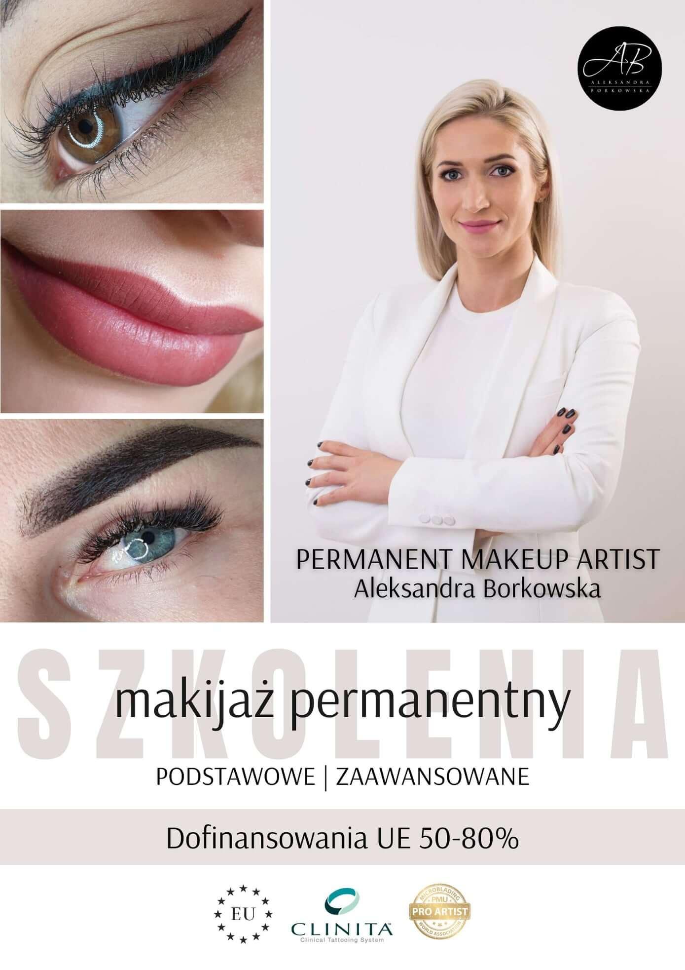 Dofinansowanie szkolenia z makijażu permanentnego